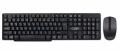 Комплект клавиатура + мышь CBR KB SET 720W black USB, беспроводной