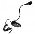 Микрофон Dialog M-115B настольный, на гибком основании, черный