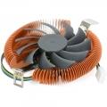 Вентилятор Crown CM-B751TPWM для Intel и AMD безвинтовое крепление, TDP 75 Ватт, коннектор 4 pin,PWM, Высота 28мм