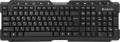 Клавиатура Defender Element HB-195 black USB мультимедиа (45195)
