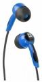 Наушники Defender Basic-604 голубой, вкладыши, кабель 1.1 м (63608)