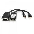 Удлинитель HDMI по витой паре до 30м Cablexpert HD19Mx2/RJ45Fx2 [DEX-HDMI-01]