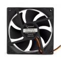 Вентилятор для корпуса Gembird S9225H-3P4M гидрод., тихий, 3 pin/4pin Molex, провод 30 см, 92x92x25, гидродинамический, 3 pin, провод 30 см