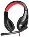 Гарнитура Oklick HS-L100 черный/красный
