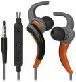 Гарнитура Defender OutFit W765 серый+оранжевый, вставки, для смартфонов (63767)