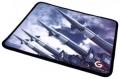"Коврик для мыши Gembird MP-GAME32 ""Ракеты"", размеры 250*200*3мм, ткань+резина, оверлок"