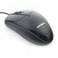 Мышь Гарнизон GM-225XL черный USB, чип- Х, 1000 DPI, 2кн.+колесо-кнопка, кабель 2м