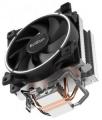Вентилятор PCcooler GI-X2 S775/115X/AM2/AM3/AM4 TDP 105W, вент-р 120мм с PWM, 2 тепловые трубки 6мм, белая LED подсветка, 1800RPM, 26.5dBa