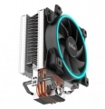 Вентилятор PCcooler GI-X3B S775/115X/AM2/AM3/AM4 TDP 125W, вент-р 120мм с PWM, 3 тепловые трубки 6мм, синяя LED подсветка, 1800RPM, 26.5dBa