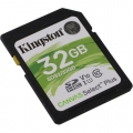 Карта памяти SDHC 32Gb Kingston SDXC Class 10 UHS-I Canvas Select 100R 100Mb/s (SDS2/32GB)