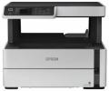 МФУ струйное A4 Epson M2140 монохромная печать, 1200х2400 точек на дюйм, 20 стр./мин., планшетный сканер, разрешение сканера 1200х2400 точек на дюйм, скорость сканирования 12 изображений в минуту, тип сенсора CIS, USB 2.0.
