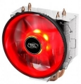 Вентилятор DeepCool GAMMAXX 300R S1155/S1156/S775/AM2/AM2+/AM3/AM4/FM1 (130Вт,PWM, 3 тепл. трубки прямого контакта, Red Led Fan 120мм,17.8~21dB(A))
