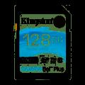 Карта памяти SDXC UHS-I U3 KINGSTON Canvas Go! Plus 128 ГБ, 170 МБ/с, Class 10, SDG3/128GB,