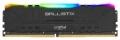 Модуль памяти DDR4 8Gb 3200MHz Crucial Ballistix Black RGB (BL8G32C16U4BL) RTL