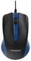 Мышь Гарнизон GM-105B синий USB, чип- Х, 800 DPI, 2кн.+колесо-кнопка