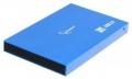 """Внешний корпус 2,5"""" Gembird EE2-U3S-56 синий металлик SATA USB3.0"""