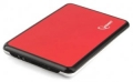 "Внешний корпус 2,5"" Gembird EE2-U3S-61 красный металлик SATA USB3.0"