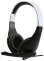 Гарнитура Gembird MHS-901 черный/белый, регулятор громкости