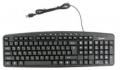 Клавиатура Gembird KB-8340UM-BL black USB 107кл.+9доп.кл., кабель 1,7м