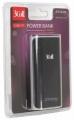 Портативный аккумулятор (Power Bank) 3Cott 3C-PB-052SS, 5200mAh, вх.: 5В1А, вых: 5В1А, прорезиненное покрытие, черный + серый