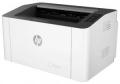 Принтер лазерный A4 HP Laser 107w (4ZB78A)