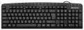 Клавиатура Defender Focus HB-470 RU black USB мультимедиа (45470)