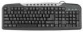 Клавиатура Defender HM-830 black USB мультимедийная (45830)