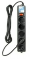 Сетевой фильтр PowerCube SPG-B-10-BLACK 3 метра, 5 евророзеток