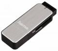 Картридер внешний Buro H-123900 USB-3.0 серебристый