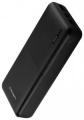 Портативный аккумулятор Crown CMPB-2000 20000mA black (Li-Pol, вход: micro-USB-5В/2А, typeC-5В/2А; выход: 2*USB-5В/2.1А)