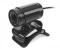 Веб-камера CBR CW-830M black 640х480, USB 2.0, встроенный микрофон, ручная фокусировка