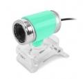 Веб-камера CBR CW-830M green 640х480, USB 2.0, встроенный микрофон, ручная фокусировка