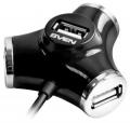 Разветвитель 4*USB2.0 Sven HB-012 кабель - 120 см