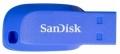 Флеш накопитель 32Gb SanDisk Cruzer Blade SDCZ50C-032G-B35BE Blue
