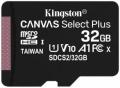 Карта памяти microSDHC 32GB Kingston microSDHC Class 10 UHS-I U1 Canvas Select Plus 100MB/s (SDCS2/32GBSP)