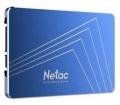 Накопитель SSD 256Gb Netac N600S TLC SATA3 540/490 (NT01N600S-256G-S3X) RTL