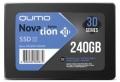 Накопитель SSD 240Gb Qumo Novation TLC 3D 530/450 SATA3 (Q3DT-240GSKF) OEM