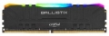 Модуль памяти DDR4 16Gb 3200MHz Crucial Ballsitix Black RGB BL16G32C16U4BL