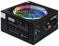 Блок питания 600W ExeGate EVO600-LT ATX, APFC, PC, 12cm RGB fan, 24pin, (4+4)pin, PCI-E, 5xSATA, 3xIDE, FDD, black, кабель 220V в комплекте