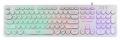 Клавиатура Dialog KGK-16U white USB игровая с подсветкой