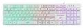 Клавиатура Dialog KGK-17U white USB игровая с подсветкой