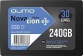 Накопитель SSD 240Gb Qumo Novation TLC 3D 520/500 SATA3 (Q3DT-240GSCY) OEM