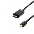 Кабель mDisplayPort- HDMI 1.8m Cablexpert 20M/19M, черный [CC-mDP-HDMI-6]