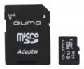 Карта памяти microSDXC 64Gb Qumo Class 10 UHS-1 3.0 + SD Adapter (QM64GMICSDXC10U1)